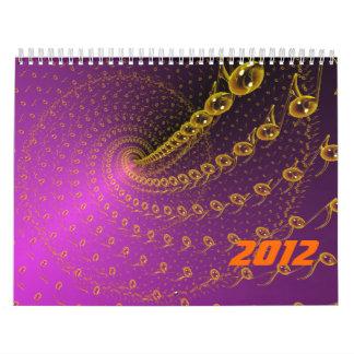 Violet infinite calendar