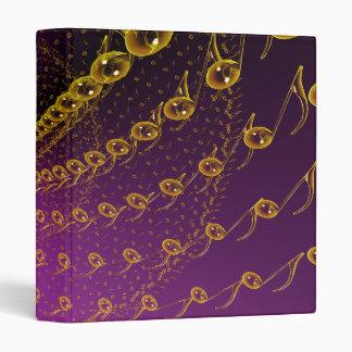 Violet infinite vinyl binders