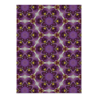 Violet Inspired Pattern Card