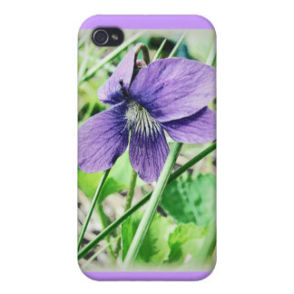 Violet iPhone 4/4S Cases