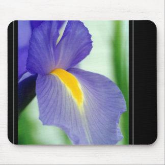 violet iris mouse pad