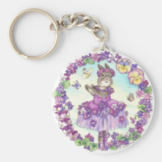 Violet Keychain