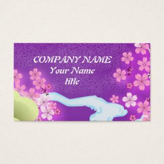 Violet Kimono Business Card