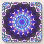 Violet Lace Beverage Coaster