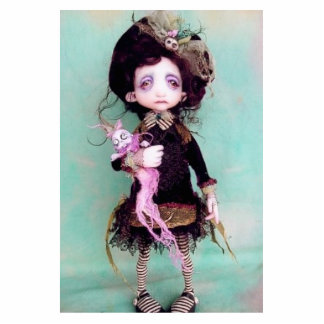 Violet Lark Standing Photo Sculpture