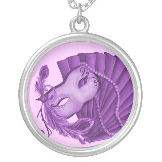 Violet Masquerade Necklace