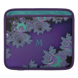 Violet Mint Fractal Sleeve For iPads