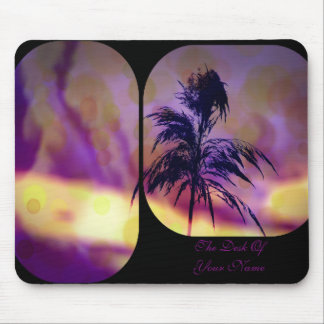 Violet N Gold Grass Art Mousepad *Personalize*