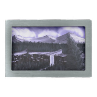 Violet Night with Snow Belt Buckle