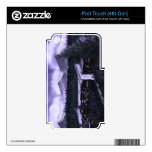 Violet Night with Snow iPod Touch 4G Skins