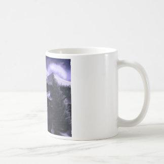 Violet Night with Snow Mug