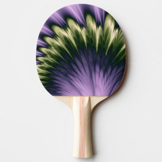 Violet Passion Ping Pong Paddle