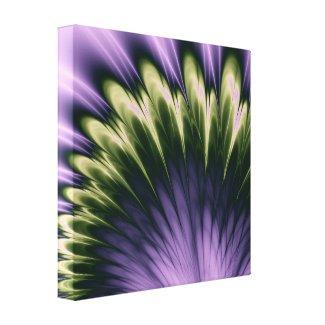 Violet Passion Stretched Canvas Prints