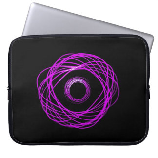 Violet Physiogram Eye Computer Sleeve