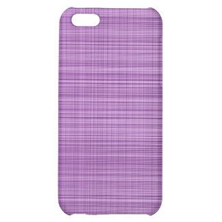 Violet Plaid Case iPhone 5C Cases