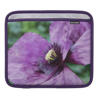 Violet Poppy iPad Sleeve