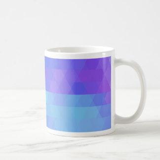 Violet purple and aqua fashion trending mug