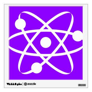 Violet Purple Atom Room Decal