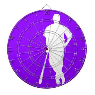 Violet Purple Baseball, Softball Dart Boards