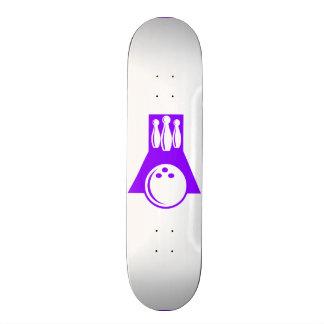 Violet Purple Bowling Skateboard Decks