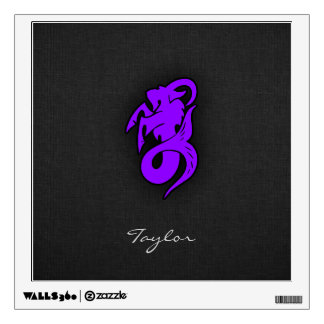 Violet Purple Capricorn Wall Decal