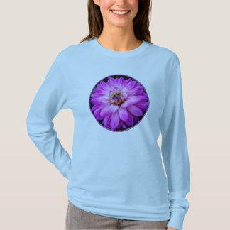 Violet/Purple Dahlia T-Shirt