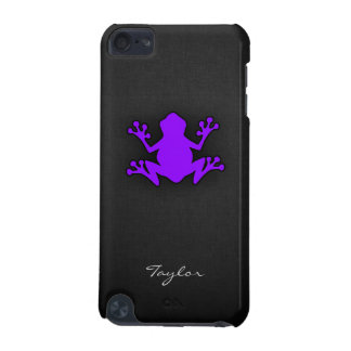 Violet Purple Frog iPod Touch 5G Cover