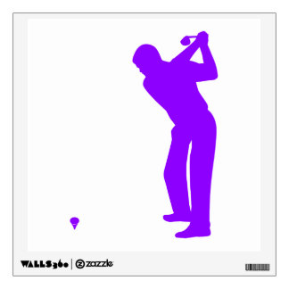 Violet Purple Golf Wall Decal