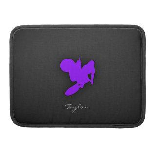 Violet Purple Motocross MacBook Pro Sleeves