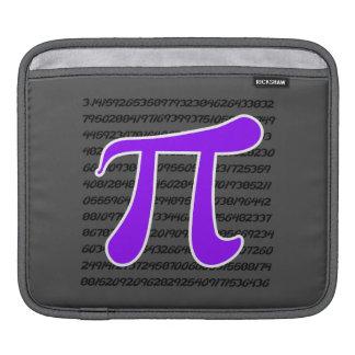 Violet Purple Pi Symbol Sleeves For iPads