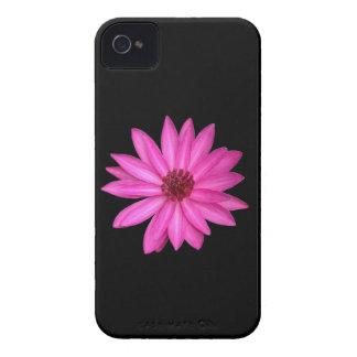Violet Purple Pink Lotus Flower Black Case-Mate iPhone 4 Case-Mate Case
