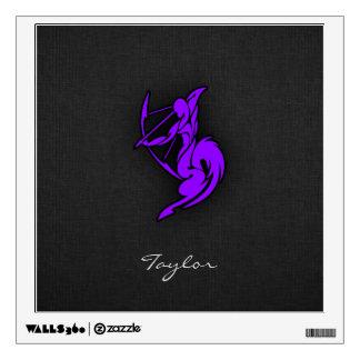 Violet Purple Sagittarius Wall Sticker