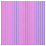 [ Thumbnail: Violet & Purple Striped/Lined Pattern Fabric ]