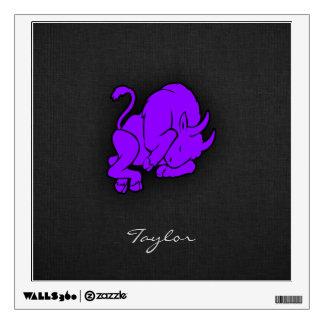 Violet Purple Taurus Wall Decal