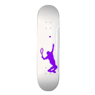Violet Purple Tennis Skate Board Decks