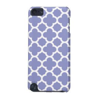 Violet Quatrefoil Trellis Pattern iPod Touch 5G Covers