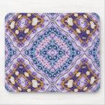 Violet Quilt Mouse Pad