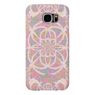 Violet red geometry samsung galaxy s6 cases