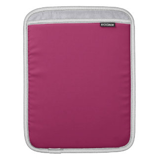 Violet Red Solid Color iPad Sleeve