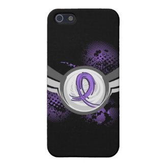 Violet Ribbon Wings Hodgkin s Lymphoma Covers For iPhone 5