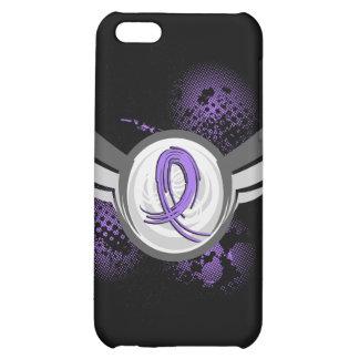 Violet Ribbon Wings Hodgkin s Lymphoma iPhone 5C Case