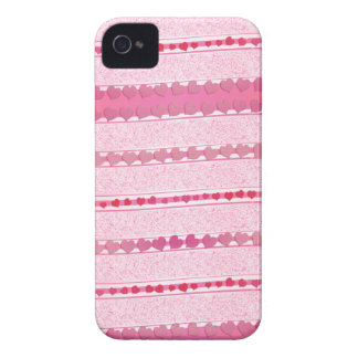 Violet rose stripes of heats  iPhone 4 cases