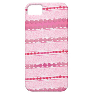 Violet rose stripes of heats  iPhone 5 cases