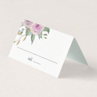 Violet & Sage Place Card