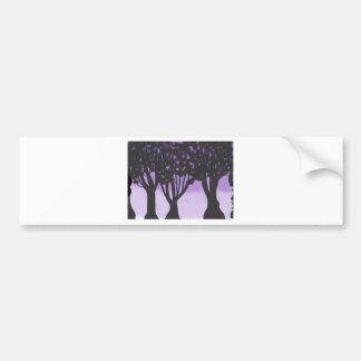violet-shadows bumper sticker
