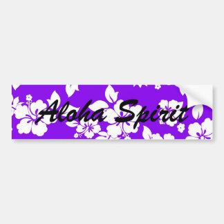 Violet Spirit Bumper Sticker