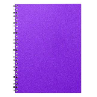 Violet Star Dust Notebook