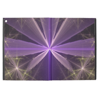 Violet Star Flower Abstract Fractal iPad Pro Case