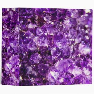 """Violet Stone 2""""8 Binder"""