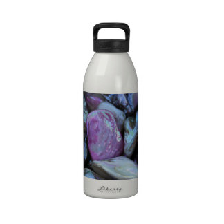 violet stones reusable water bottles